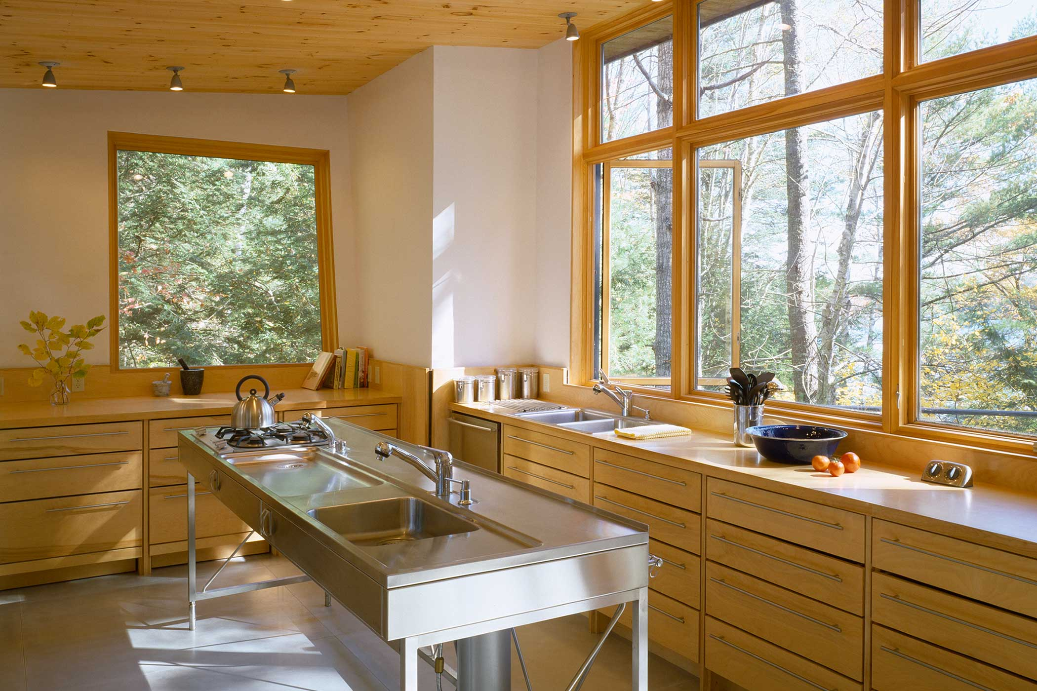 'Lake House - Kitchen' by Christopher Campbell Architecture