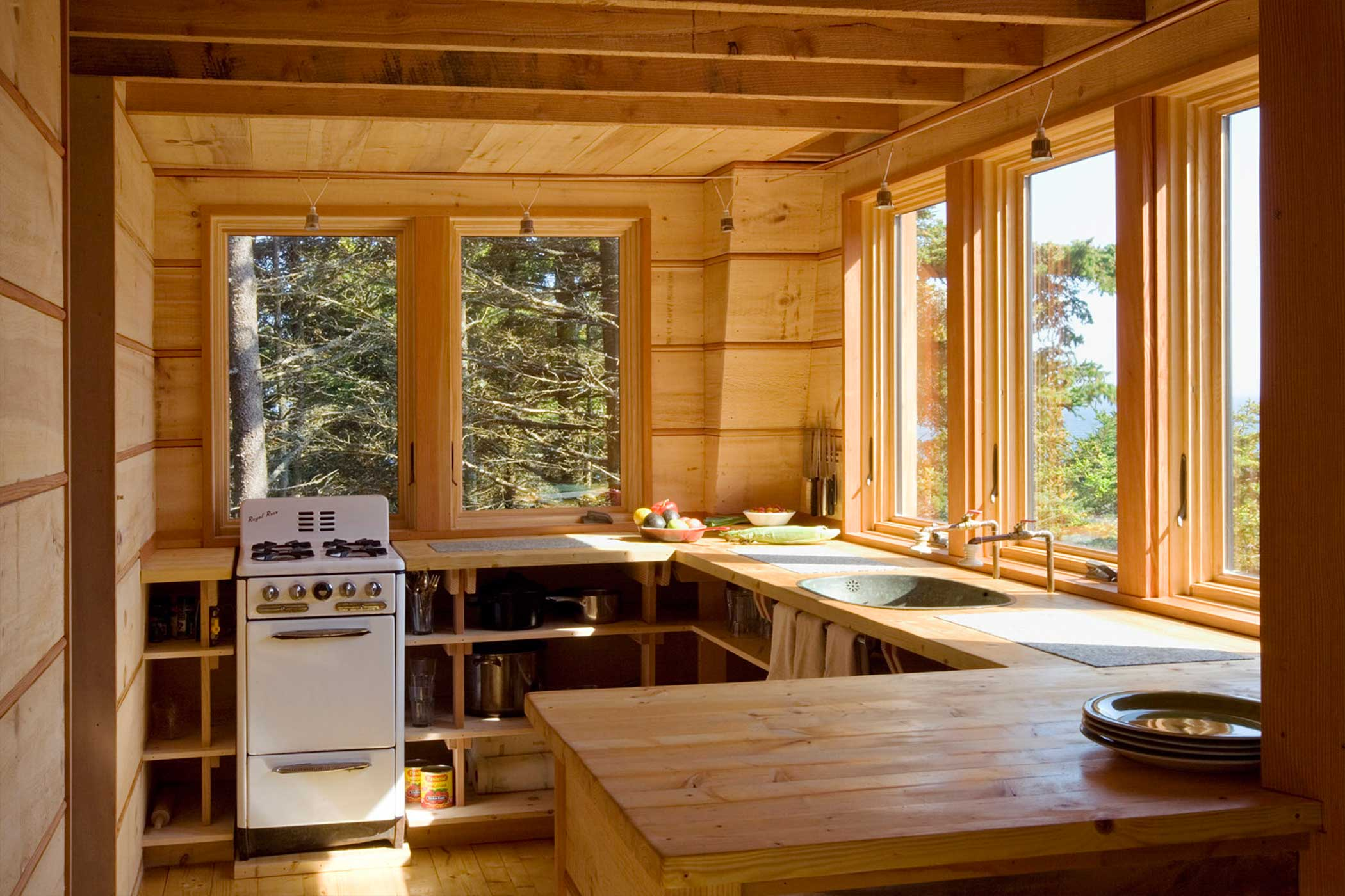 'Off Grid - Kitchen' by Christopher Campbell Architecture